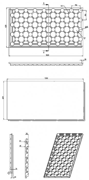 Nákresy/EPS styrodeska